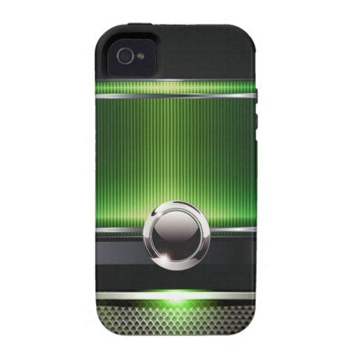 Caja lisa euro lujosa del teléfono del diseñador ( iPhone 4/4S carcasas