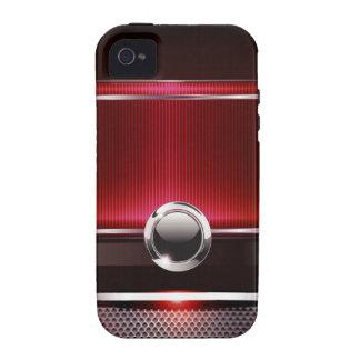 Caja lisa euro lujosa del teléfono del diseñador funda Case-Mate para iPhone 4
