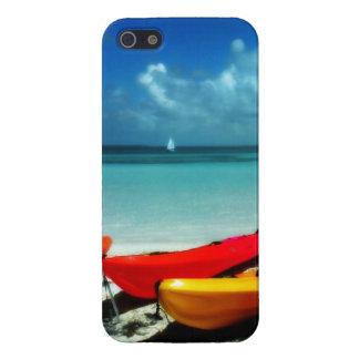 Caja lista del teléfono del kajak del Caribe iPhone 5 Funda