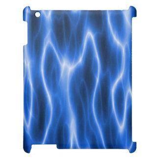 Caja lista eléctrica azul del iPad