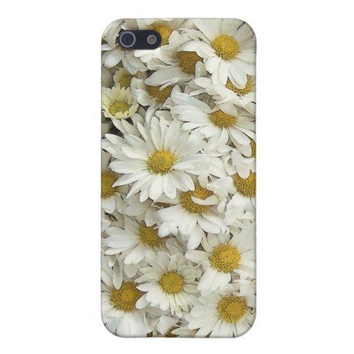 Caja lista floral del teléfono de la momia de la m iPhone 5 carcasa