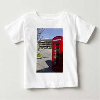 Caja Londres del teléfono Playera De Bebé