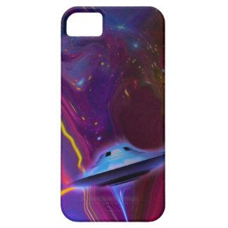 Caja magenta del teléfono de la dimensión del UFO iPhone 5 Carcasas