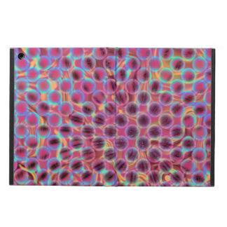 Caja magnética púrpura abstracta del aire del iPad