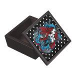 Caja magnetizada ángel retro del trago del Rockabi Cajas De Joyas De Calidad