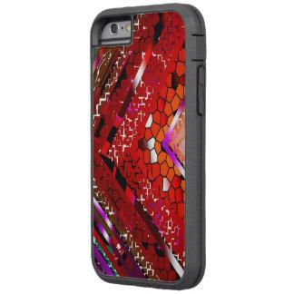 Caja manchada a todo color del iPhone 6 Funda Tough Xtreme iPhone 6