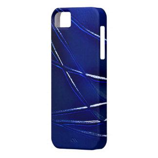 Caja marina azul de la elegancia iPhone 5 carcasa