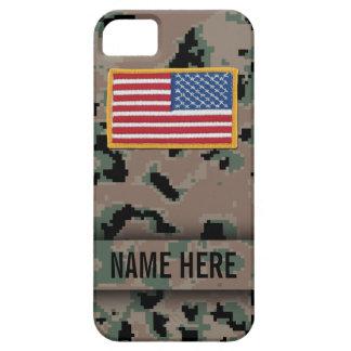 Caja marina del camuflaje de Digitaces del estilo iPhone 5 Case-Mate Cárcasas