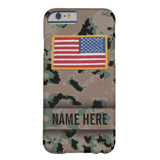 Caja marina del camuflaje del estilo funda de iPhone 6 barely there