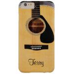 Caja más personalizada del iPhone 6 de la guitarra Funda De iPhone 6 Plus Barely There