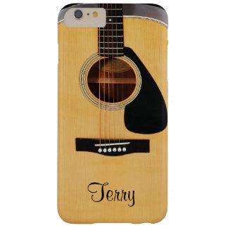 Caja más personalizada del iPhone 6 de la guitarra Funda Para iPhone 6 Plus Barely There