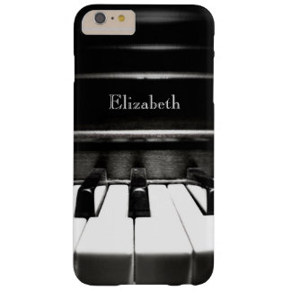 Caja más personalizada del iPhone 6 negros del Funda De iPhone 6 Plus Barely There