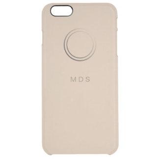 Caja más personalizada del iPhone 6 pálidos del Funda Clearly™ Deflector Para iPhone 6 Plus De Unc