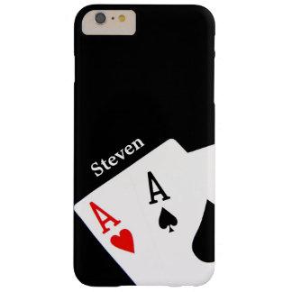 Caja más personalizada póker del iPhone 6 Funda Para iPhone 6 Plus Barely There