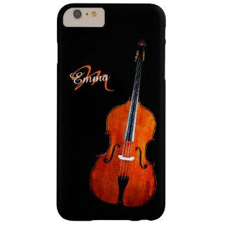 Caja más personalizada violoncelo del iPhone 6 Funda Para iPhone 6 Plus Barely There