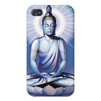 Caja Meditating de la mota del iPhone 4 de Buda iPhone 4 Carcasa