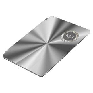 Caja metálica del aire del iPad del monograma de l
