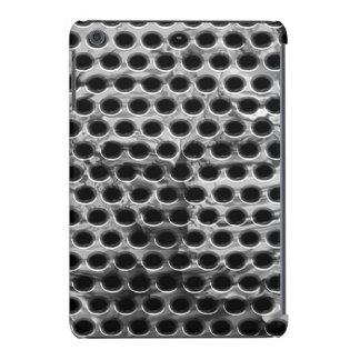 Caja metálica perforada funda de iPad mini
