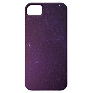 Caja milkway púrpura del teléfono de las estrellas iPhone 5 carcasas