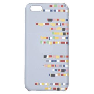 Caja minúscula de la mota del iPhone 4 de los monu