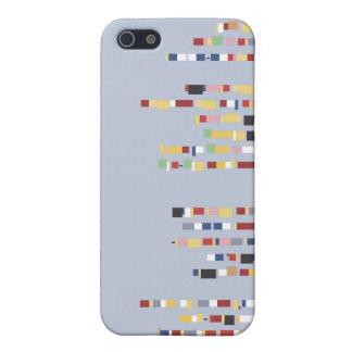 Caja minúscula de la mota del iPhone 4 de los monu iPhone 5 Carcasa
