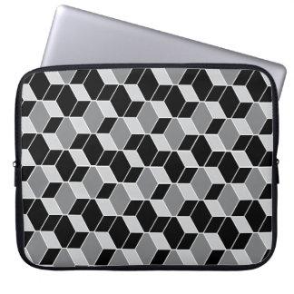 Caja modelada del ordenador portátil de la ilusión funda computadora