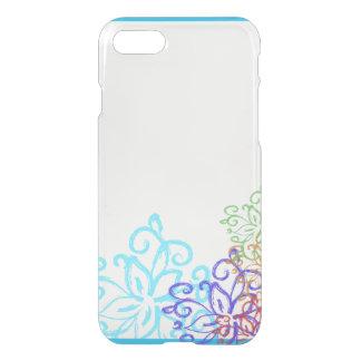 Caja modelada flor elegante del teléfono del funda para iPhone 7