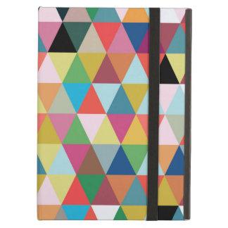 Caja modelada geométrica colorida del aire del