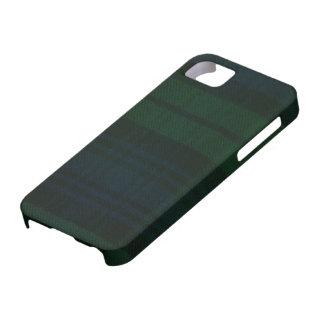 caja moderna de la impresión del tartán del reloj iPhone 5 Case-Mate protector