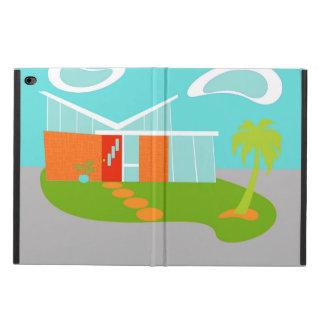 Caja moderna del aire del iPad de la casa del