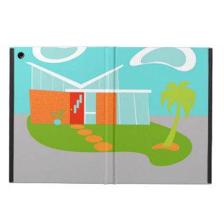 Caja moderna del aire del iPad del dibujo animado