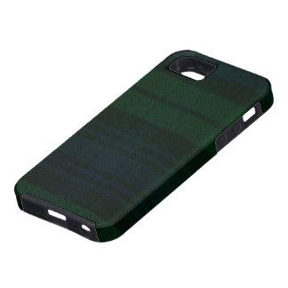 caja moderna del reloj negro del ambiente del iPho iPhone 5 Case-Mate Protector