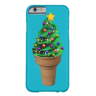 Caja moderna del teléfono del árbol de navidad del funda para iPhone 6 barely there