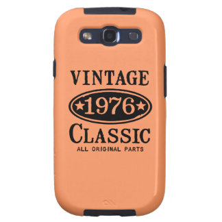 Caja móvil de la obra clásica 1976 del vintage galaxy s3 carcasas