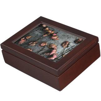 Caja muerta del recuerdo de los rosas caja de recuerdos