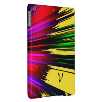 Caja multicolora del aire del iPad del punto