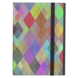 Caja multicolora del iPad del iCase de Powis con K