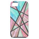 Caja multicolora del iPhone 5 de los ángulos iPhone 5 Case-Mate Cobertura