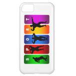Caja multicolora del iPhone 5 del Bodybuilding