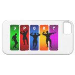 Caja multicolora del iPhone 5 del Bodybuilding iPhone 5 Case-Mate Fundas