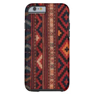 Caja multicolora del iPhone 6 de Kilim Funda Para iPhone 6 Tough