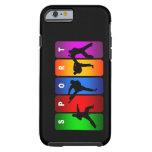 Caja multicolora del iPhone 6 del karate