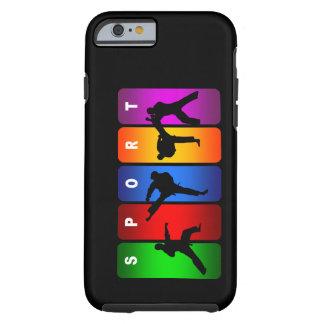 Caja multicolora del iPhone 6 del karate Funda Para iPhone 6 Tough