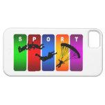 Caja multicolora del iPhone que se lanza en iPhone 5 Carcasa
