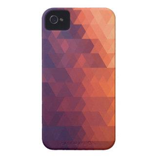 Caja multicolora formada geométrica del teléfono Case-Mate iPhone 4 cobertura