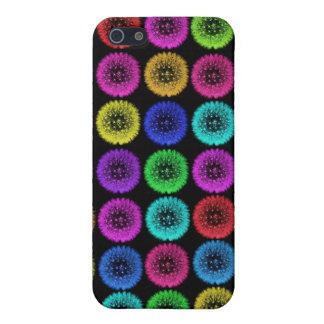 Caja multicolora linda del teléfono del diseño I d iPhone 5 Protector