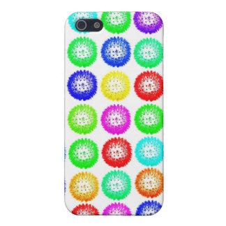 Caja multicolora linda del teléfono del diseño I d iPhone 5 Cárcasa