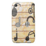 Caja musical del auricular 3G Iphone Case-Mate iPhone 3 Carcasas