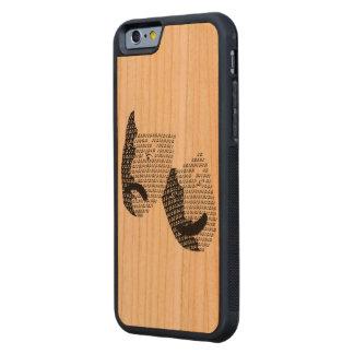 Caja musical del teléfono funda de iPhone 6 bumper cerezo