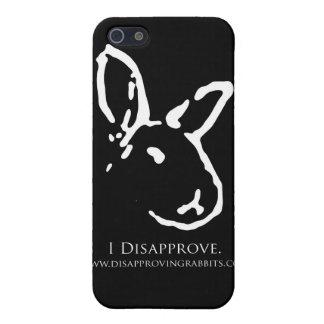 Caja negra de desaprobación del iPhone de los cone iPhone 5 Funda